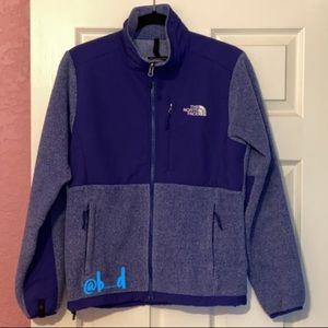 North Face Denali Jacket Blue Small
